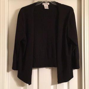 Worthington XL Cotton Blend knit cardigan